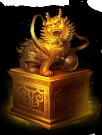 Trofeo per Drago d'Oro